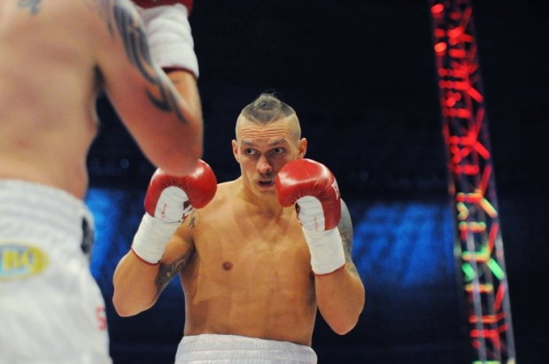 Usyk won for the eighth time / Photo from UNIAN