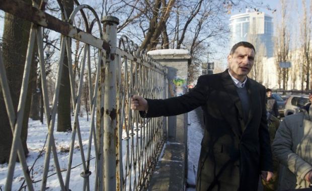 Кличко уехал с заседания Киевсовета / Фото УНИАН