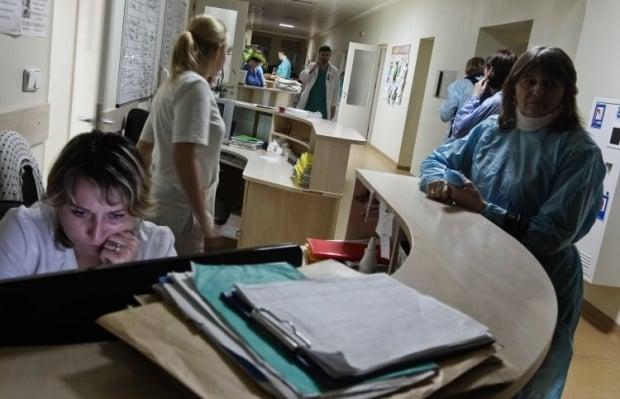 На сегодняшний день в отделениях реанимации или в отделениях интенсивной терапии находятся только 4 человека, у которых диагностирован грипп / Фото: УНИАН