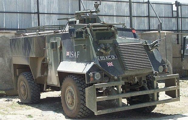 Ілюстративна фотографія: бронеавтомобіль Saxon / military-vehicle-photos.com