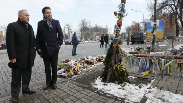 Каспаров: украинцы проходят испытание / Фото УНИАН