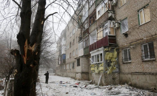Житлові квартали Попасної після обстрілу в ніч на 9 грудня