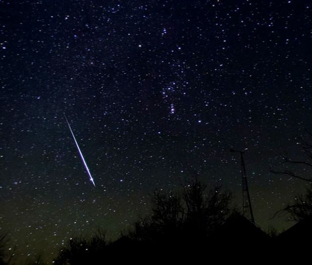 На текущей неделе можно будет увидеть звездопад