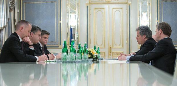 Встреча Порошенко с представителями МВФ /  @poroshenko