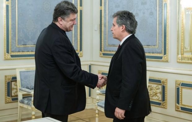 Порошенко и Липтон / Фото УНИАН
