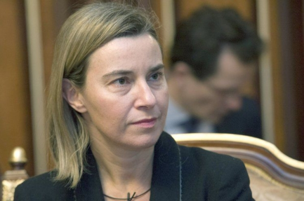 Mogherini says that the Minsk agreements must be implemented in good faith / Photo from UNIAN