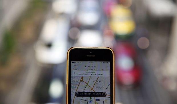 Такси Uber - служба Taxi Юбер в России, Москве и Санкт