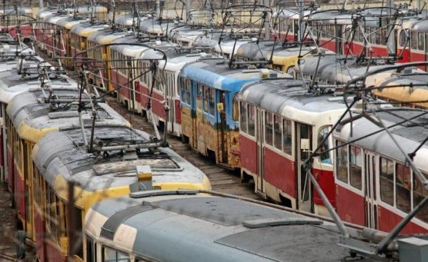 В киеве на площади Победы снова будут ходить трамваи/УНИАН