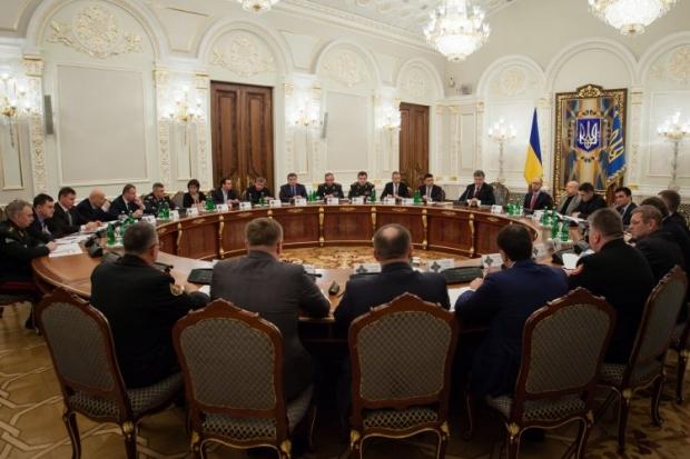 СНБО раскрыла планы обороны страны на 2015 год