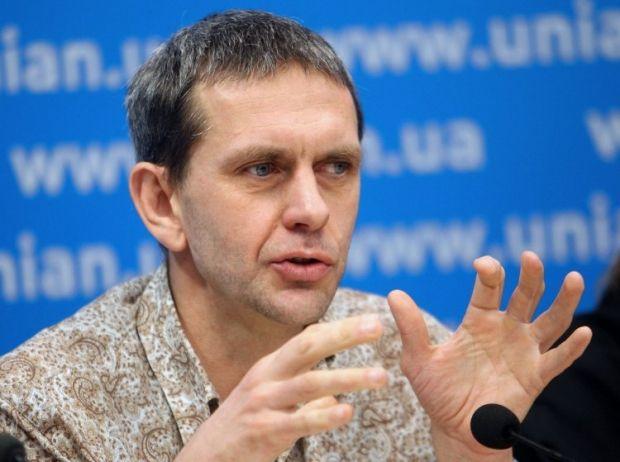 "журналист телеканала ""1+1"" Александр Иваницкий. Фото УНИАН."