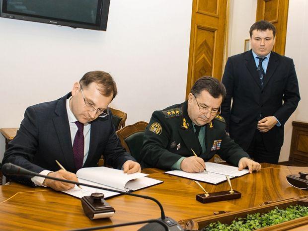 Міноборони підписало меморандум про співпрацю з аудитором / Фото прес-служба Міністерства оборони
