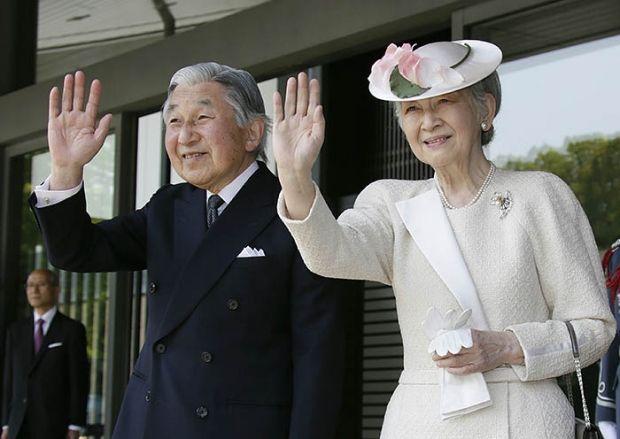 император Японии Акихито / REUTERS