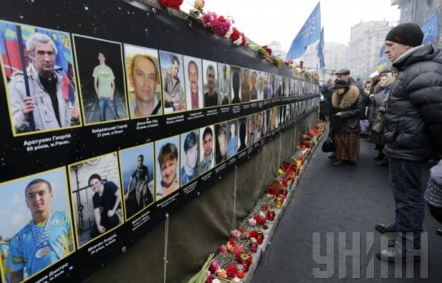 The Heavenly Hundred symbolizes Ukraine's fight for freedom / Photo by UNIAN