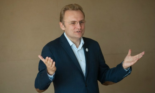 Incumbent Lviv mayor Andriy Sadovy / Photo from UNIAN