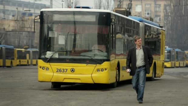 В Киеве появится троллейбус №40к / Фото УНИАН