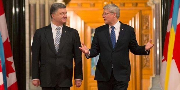Photo from Facebook page of Stephen Harper