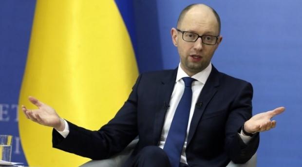 Яценюк обсудил с президентом германии