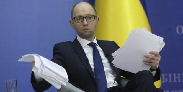 Яценюк забеспокоился из-за курса гривни / Фото УНИАН