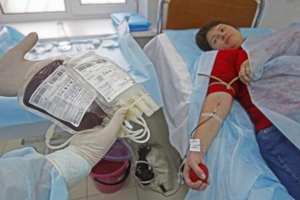 В Донорском центре приема крови при Киевской клинической больнице № 1 / Фото: УНИАН