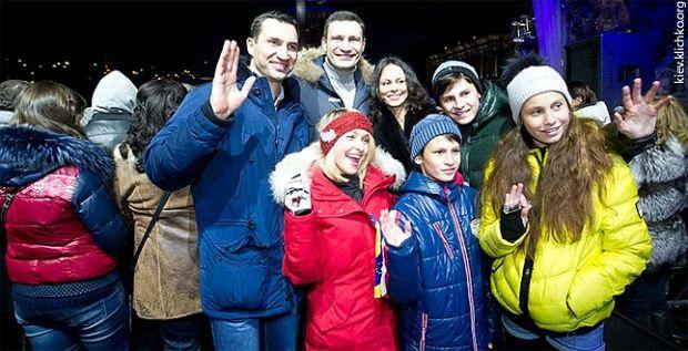 на Софійській площі почалося святкування / kievcity.gov.ua
