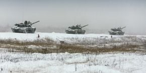 Militants massing equipment and troops near Donetsk and Mariupol