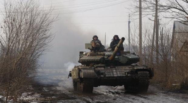 Боевики пытались атаковать позиции сил АТО \ УНИАН