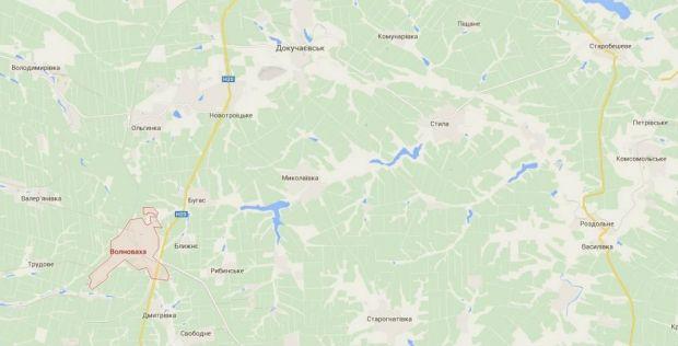 1421156255-1093 Под Волновахой боевики обстреляли автобус с жителями: 10 человек погибли, 13 ранены