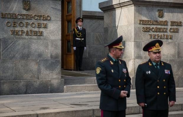 Муженка та Полторака можуть викликати до Ради / Фото УНІАН