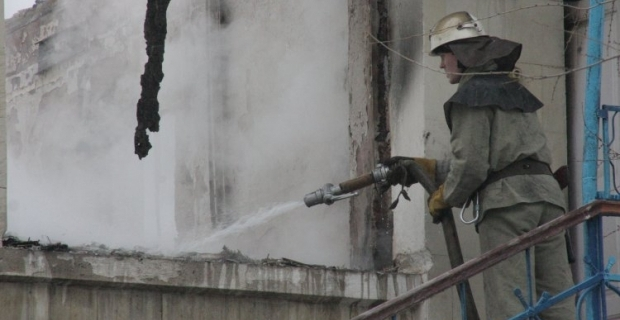 ВОдеській обл. сталася пожежа натериторії військової частини