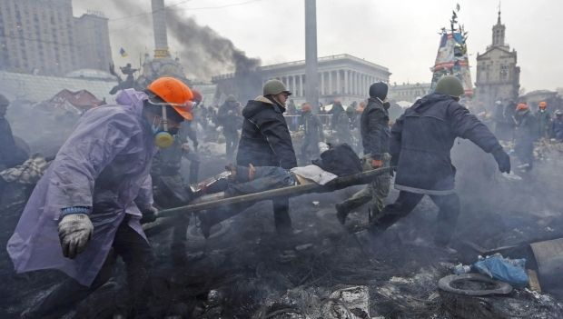 Майдан, 20 лютого, безлади / REUTERS