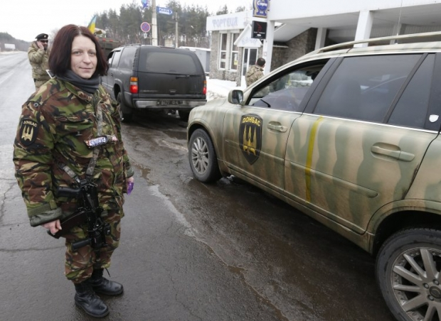 Лисичанск Донбасс батальон / Фото УНИАН