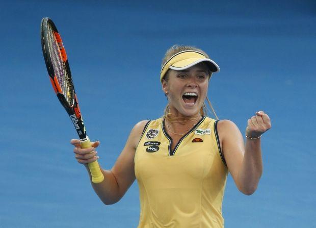 Свитолина и Козлова выиграли матчи теннисных турниров в Ухане и Ташкенте
