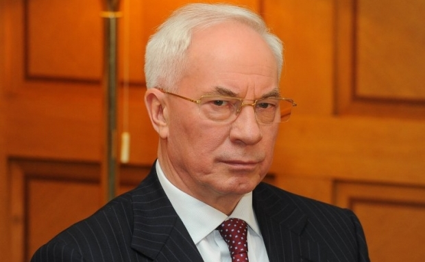 "Azarov has taken to ""rescue"" Ukraine / Photo from UNIAN"