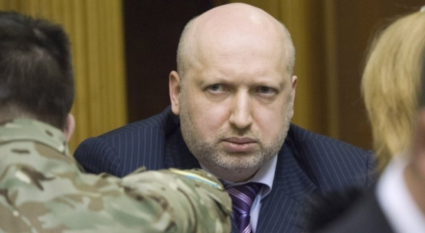 Turchynov says Russian authorities are barely interested in peace resolution of the Donbas crisis / Photo from UNIAN