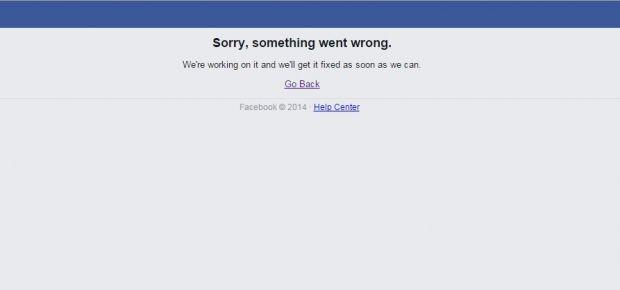 Социальные сети facebook и instagram перестали