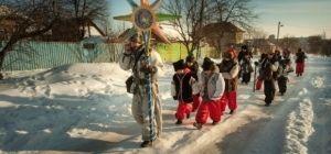 """В Запорожье возле 700-летнего дуба отпраздновали """"Казацкое Рождество"""" (фоторепортаж)"""