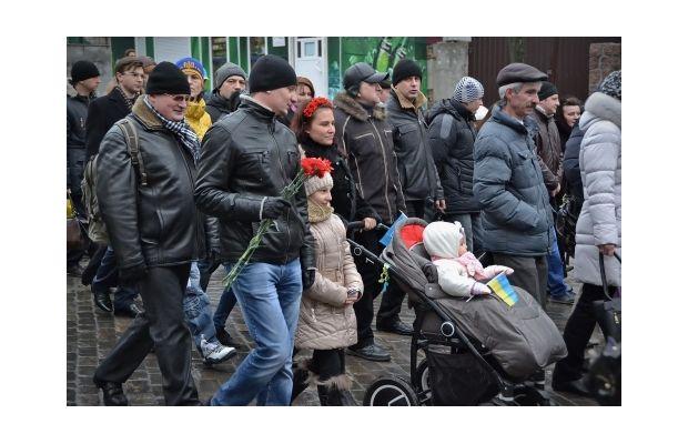 В десятках городов украины прошли