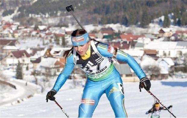 Украинская биатлонистка Варвинец завоевала бронзу в Риднау