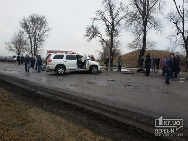 Место аварии / 1kr.ua