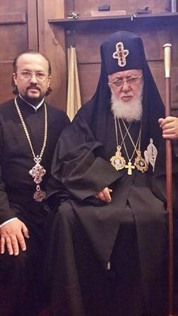 протоиерей Николай Несправа по приглашению Святейшего и Блаженнейшего Католикоса-Патриарха всея Грузии Илии II