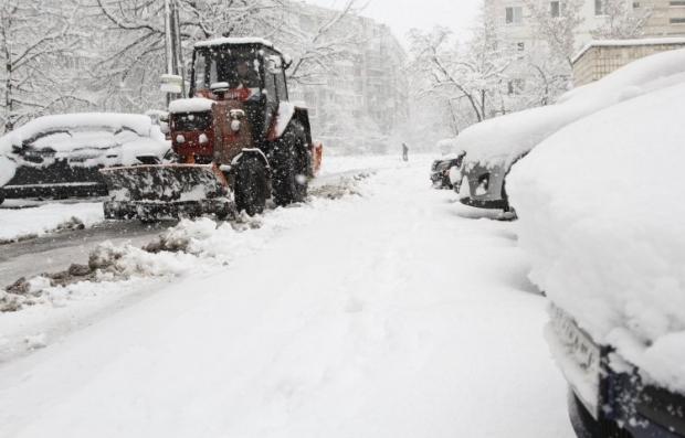 Киевские власти утверждают, что готовятся к снегопадам / Фото УНИАН