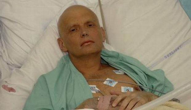 Alexander Litvinenko / Photo from www.telegraph.co.uk