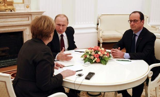 """Путін, Меркель і Олланд підтримали швидкий обмін полонених """"всіх на всіх"""" - Кремль"""
