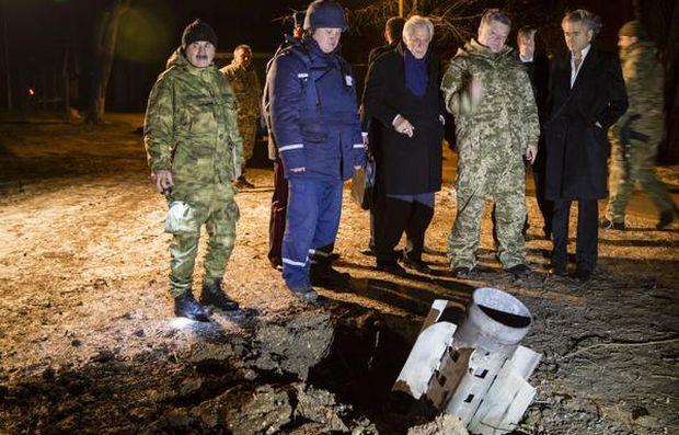 Де побачив наслідки обстрілу міста / Svyatoslav Tsegolko Facebook