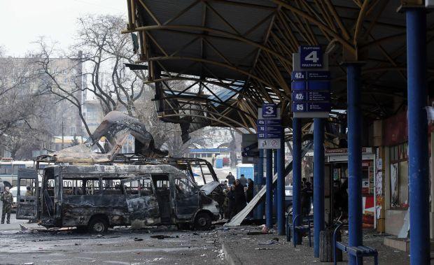Обстрел автостанции и проходных ДМЗ квалифицированы как террористический акт