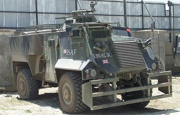 British Saxon armored cars to be delivered to Ukrainian ...