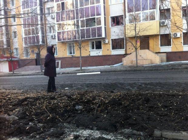 Результат взрыва на бульваре Пушкина / @barabanch