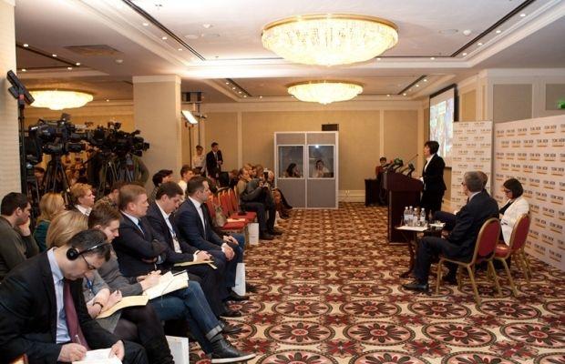Мероприятие «Благотворительность Рината Ахметова: вызовы и решения 2014-2015 гг.» / Фото: Гуманитарный штаб Рината Ахметова