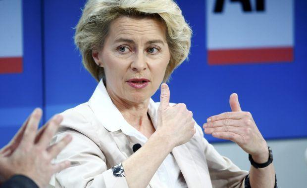 Министр обороны Германии Урсула фон дер Ляен / REUTERS