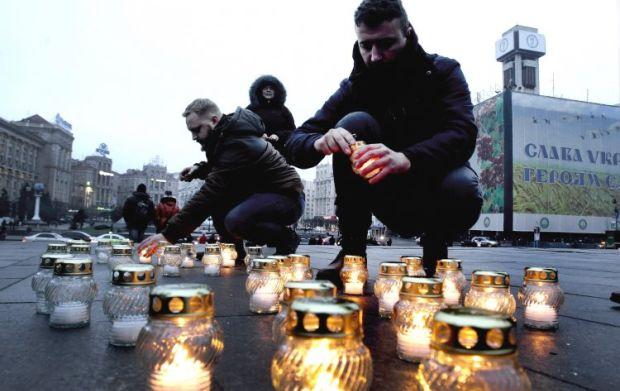 Цент Киева перекроют на время акции в память героев Небесной сотри / УНИАН